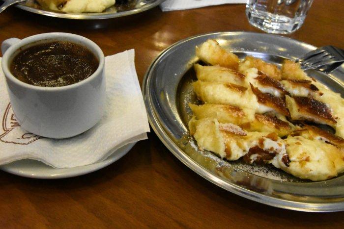 Bougatsa Traditional dish from Crete