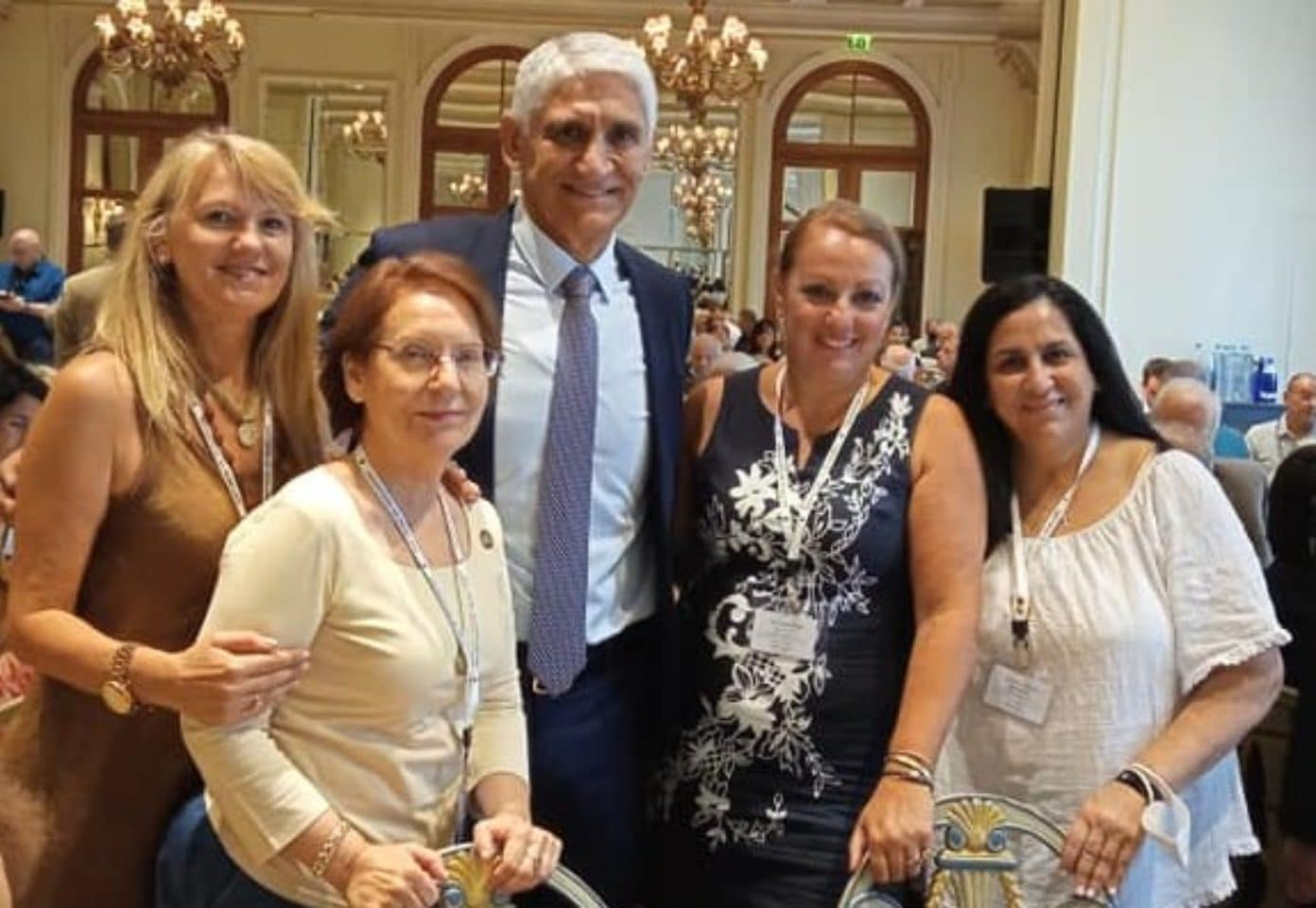 Giannakis with DOP members